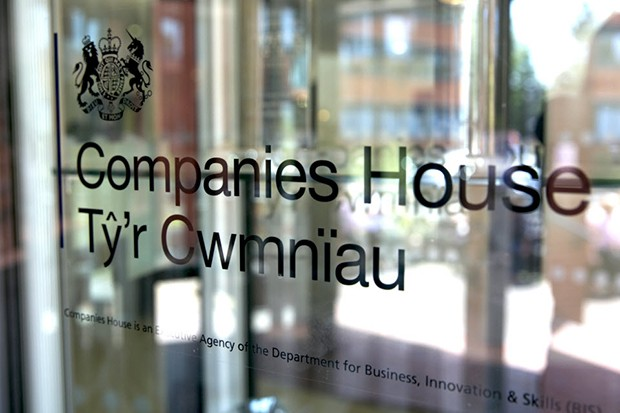 companies house glass logo