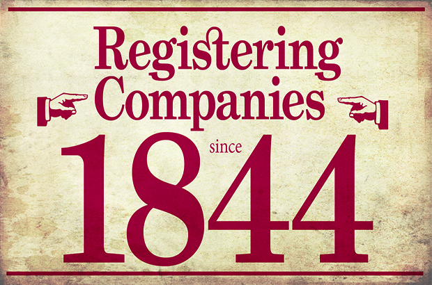 Registering Companies since 1844 – some of our oldest companies