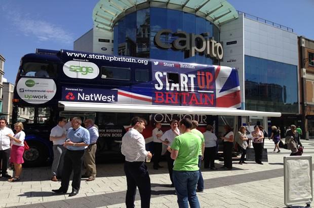 StartUp Britain Tour Bus