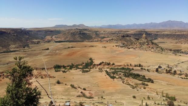 Moshoeshoe Plateau in Lesotho