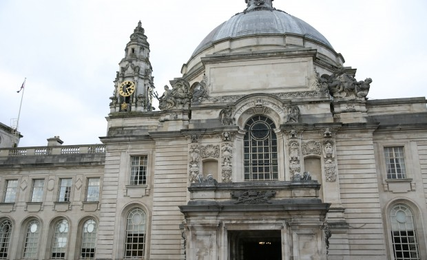 Picture of City Hall in Cardiff