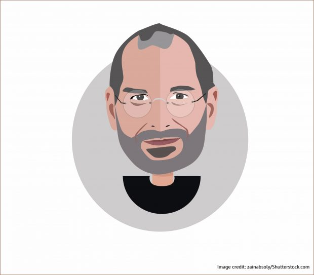 Artwork of Steve Jobs
