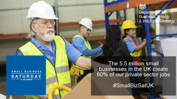 Small Business Saturday promo image
