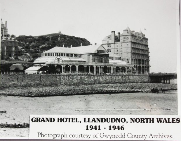 Picture of the Grand Hotel, Llandudno, 1941 to 1946