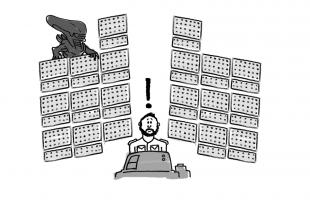Alien UX fails cartoon.