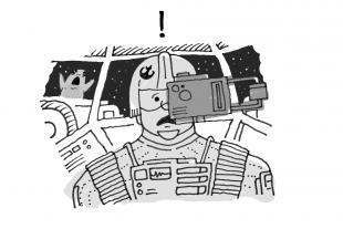 Star Wars UX fails cartoon.