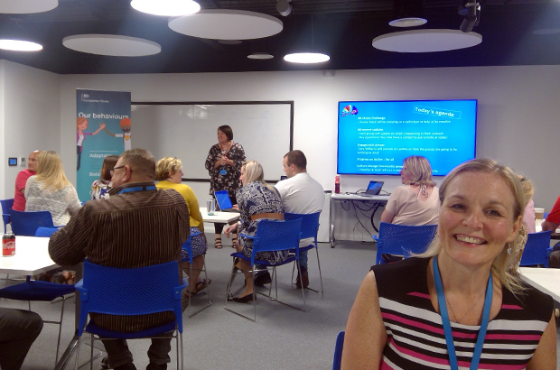 Companies House colleagues at a culture change workshop