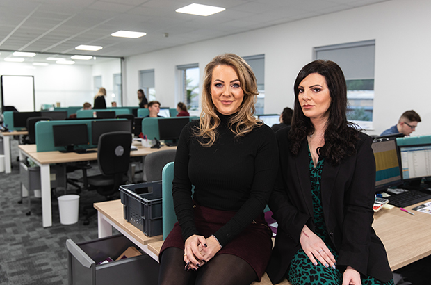 Sophie Hughes and Lucy Cohen, co-founders of Mazuma