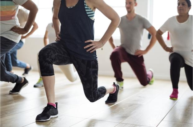 Indoor exercise class