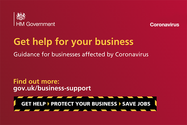 Get help for your business. Find out more: gov.uk/business-support