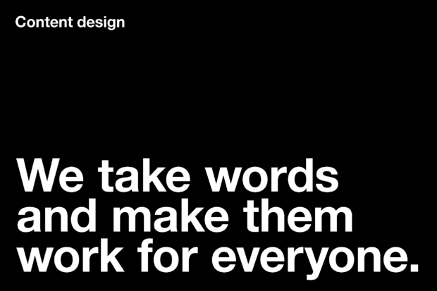We take words and make them work for everyone.